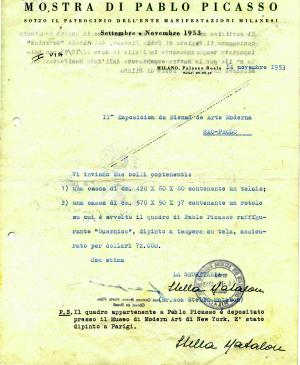 Export certificate for Guernica