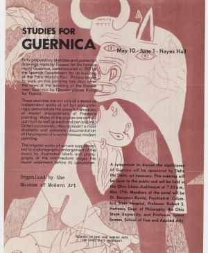 Studies for Guernica, Ohio State University