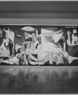 Views of the exhibition Picasso: 75th Anniversary