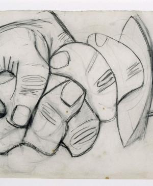 Hand with Broken Sword. Sketch for Guernica
