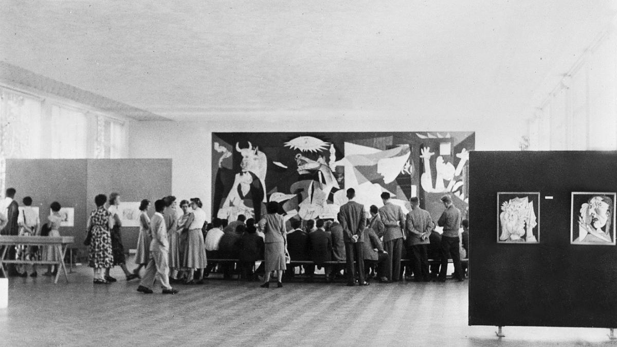 Exposición de Picasso en el Stedelijk Museum