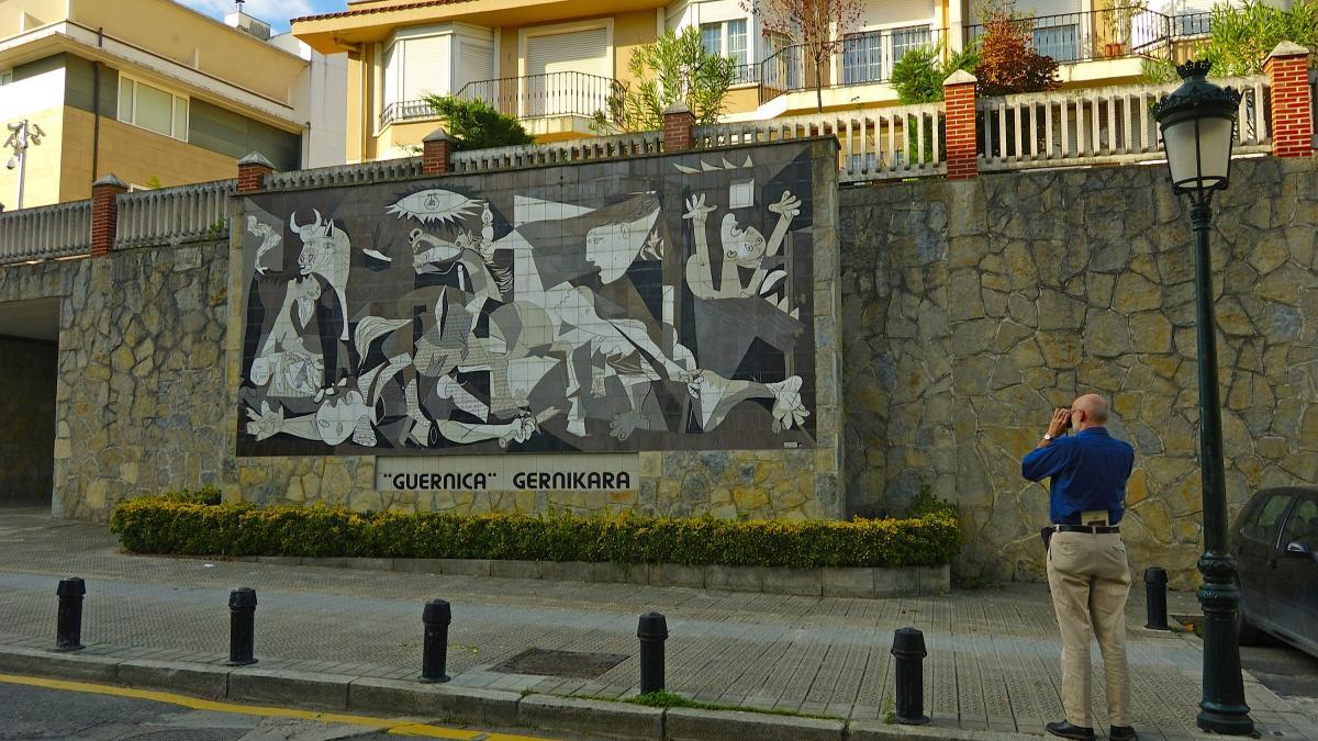 Mural en Gernika