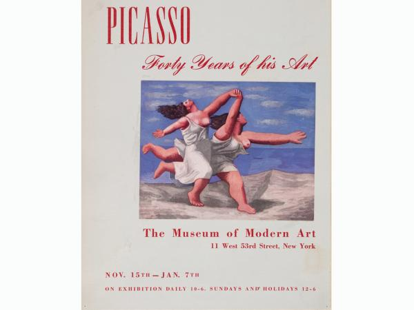 Picasso: Forty years of His Art, Museum of Modern Art de Nueva York